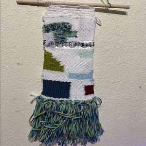 Homemade Wall hanging, patterned